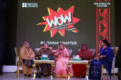 WOW Festival: Rajshahi Chapter has arranged successfully in Rajshahi College by the British Council in association with CCD Bangladesh