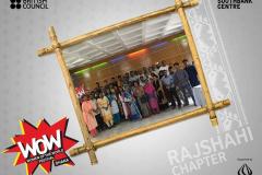 Some WoW moments and wonderful memories of Women of the World- WOW Dhaka: Rajshahi Chapter