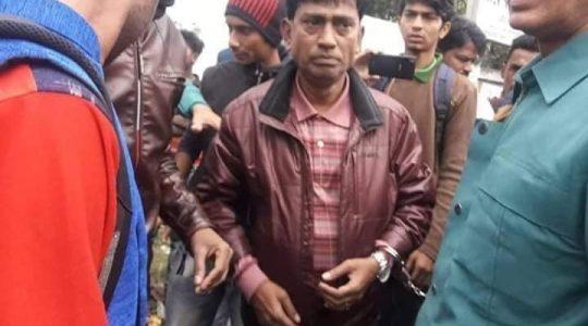 Chief of Ekattor Television Rakib Uddin Pannu charge by police