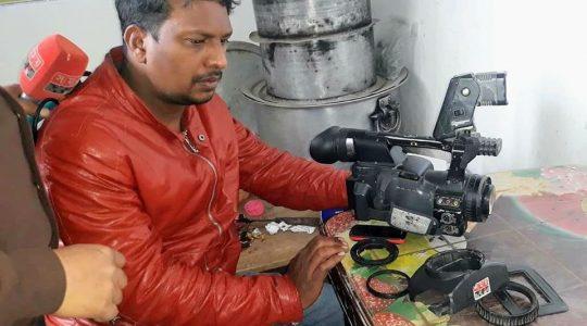 রাজশাহীর বাগমারায় সাংবাদিক হাবিবুর রহমান পাপ্পু'র উপর হামলা