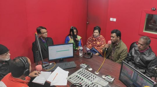 """Radio Padma 9.2 FM has broadcast a special live program """"Your Radio – Your Talk"""" today"""