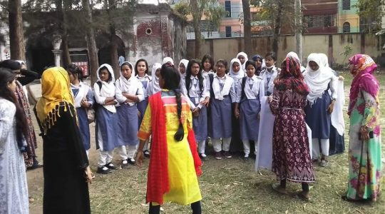 """Active Citizens (Batch- 119-A) of CCD Bangladesh has arranged """"Technical Session of Self Defence"""" in Rajshahi Government Women College"""